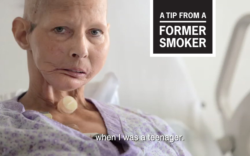 "Terrie's ""Teenager"" Tips Commerical - A Tip From A Former Smoker"
