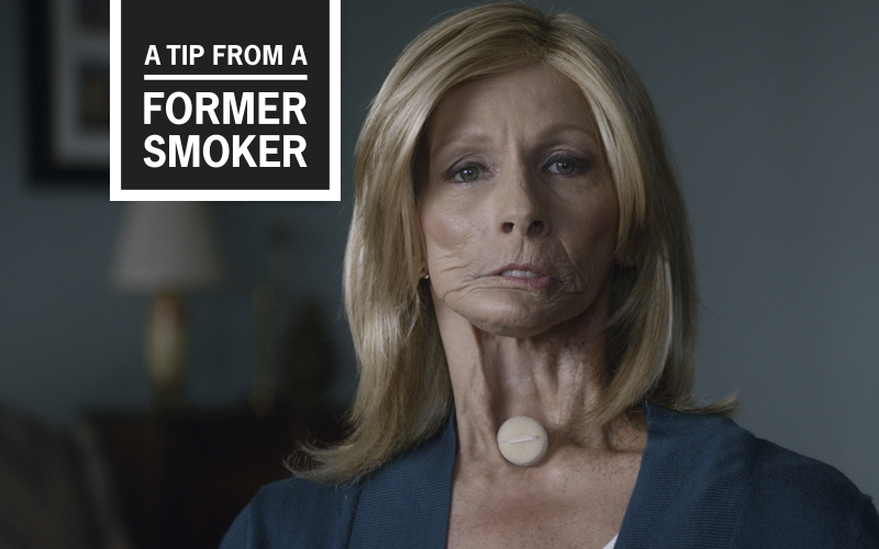 "Terrie's ""Voice"" Tips Commercial - A Tip From A Former Smoker"