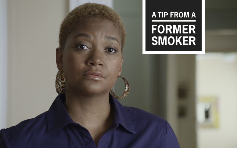 "Tiffany's ""Smoking and Family"" Tips Commercial - A Tip From A Former Smoker"