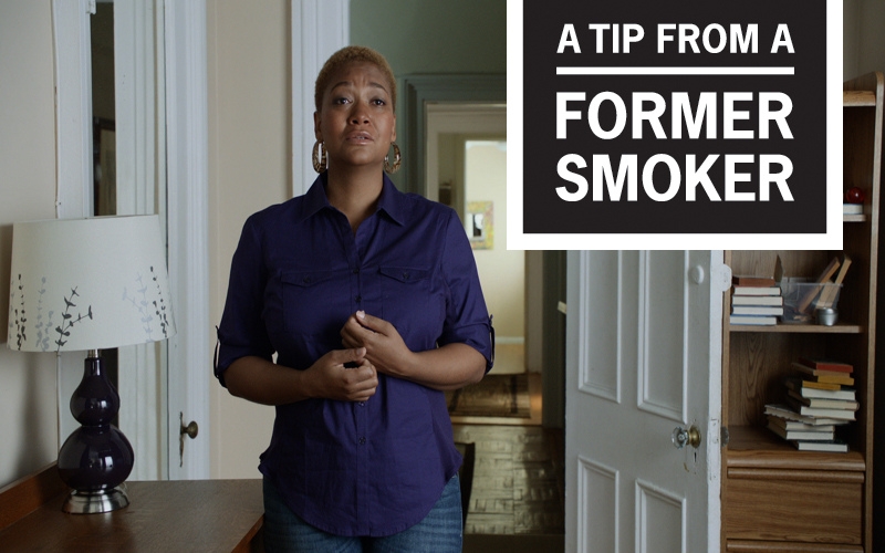 "Tiffany's ""Decision"" Tips Commercial - A Tip From A Former Smoker"
