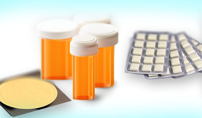 Various nicotine replacement medications