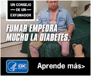 Un consejo de un exfumado. Fumar empeora mucho la diabetes. Aprende más.