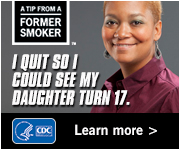 A Tip From a Former Smoker: I quit so I could see my daughter turn 17. Learn more.