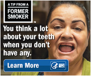 A Tip From a Former Smoker: You think a lot about your teeth when you don't have any. Learn more.