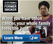 A Tip from a Former Smoker: When you have colon cancer, your whole family feels the pain.