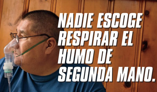 Nathan's Spanish No One chooses to Secondhand Smoke Ad