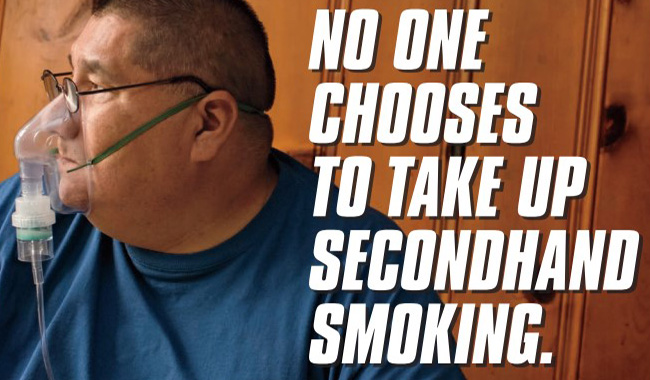 Nathan's No One Chooses to Take Up Secondhand Smoking Ad - English
