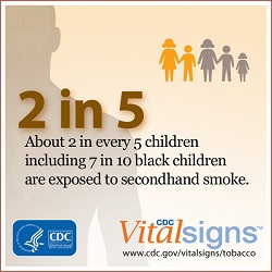 Vital Signs: Secondhand Smoke: An Unequal Danger