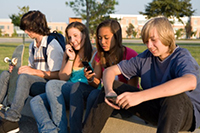 Image of teens