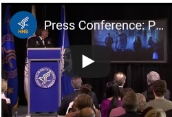 Video announcing the release of the 2012 Surgeon General's report on preventing tobacco use among youth and young adults