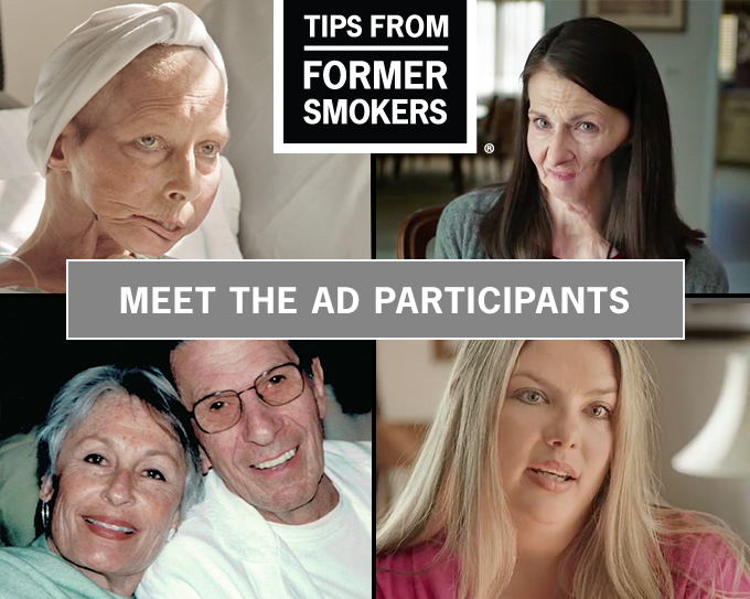 Meet the participants - Tips from former Smokers