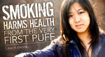 Smoking harms health from the very first puff. Learn more.