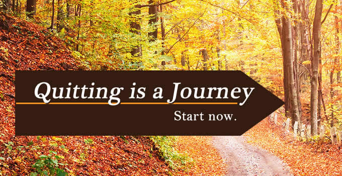 Quitting is a Journey - Start now.