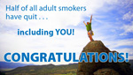 Congratulations on Quitting Smoking!