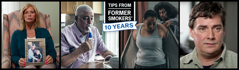 Tips From Former Smokers 10 Years - Terrie, Michael F., Asaad and Leah, Brett