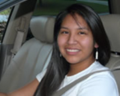 Photo: Native American Teen Driver
