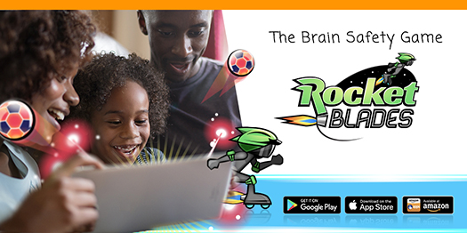 The Brain Safety Game: Rocket Blades