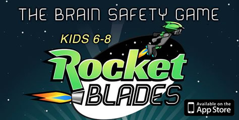 Rocket Blades The Brain Safety Game Kids 6-8 Available on the App Store