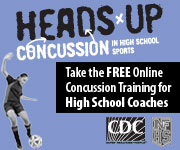 HEADS UP: take the free online concussion training for high school coaches