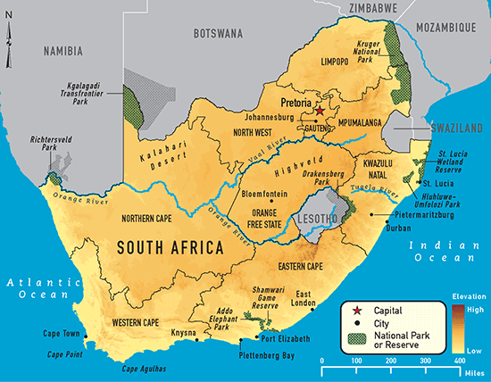 south africa - chapter 4