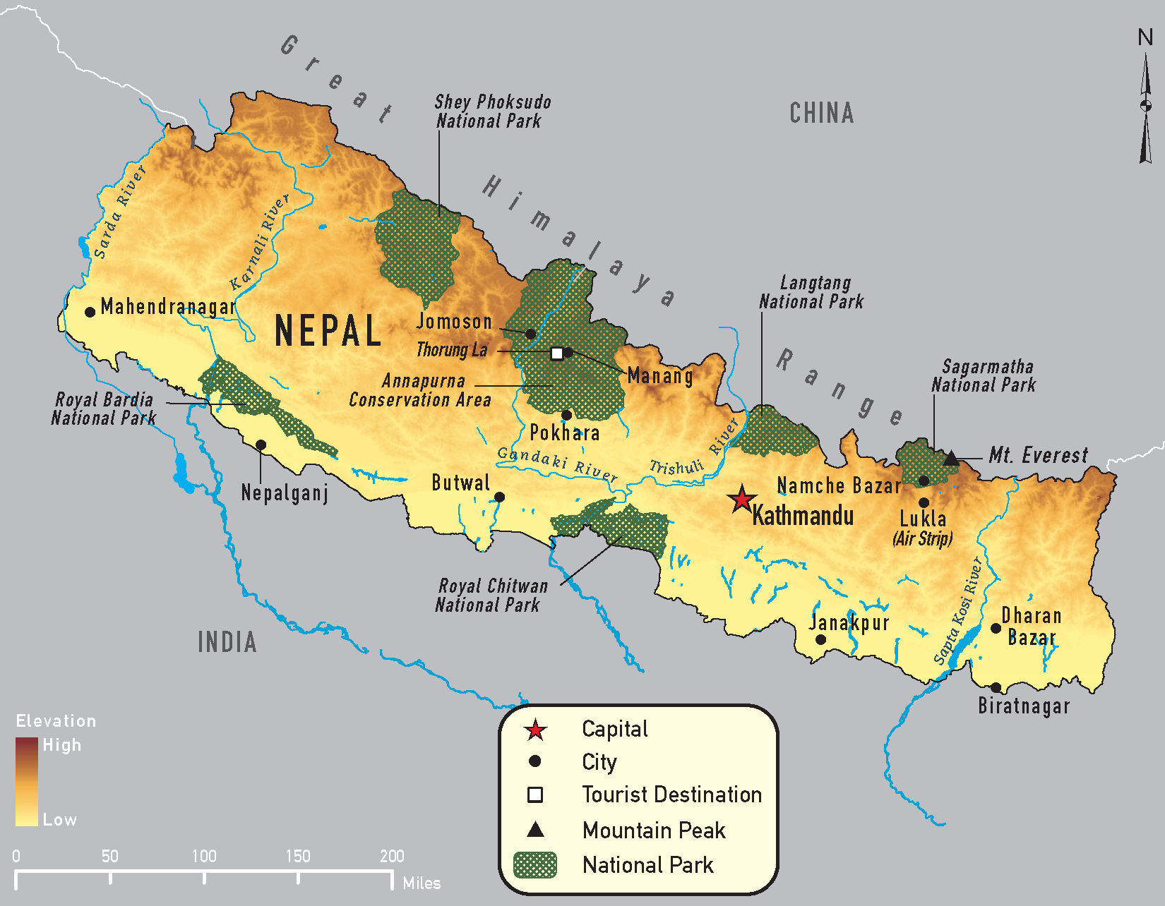 Nepal Chapter 4 2014 Yellow Book Travelers Health Cdc