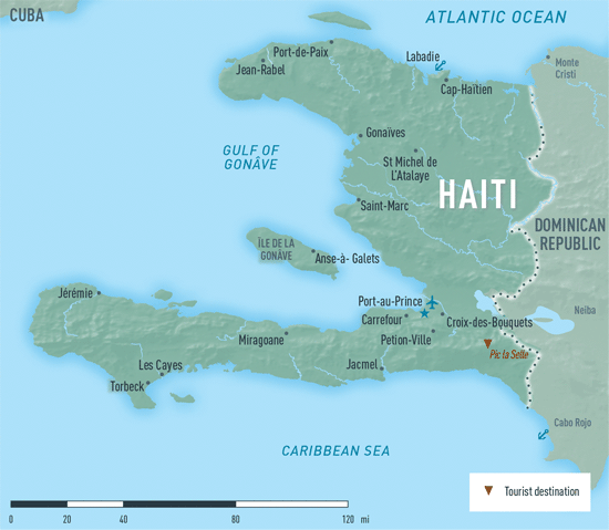 Map 4-08. Haiti destination map