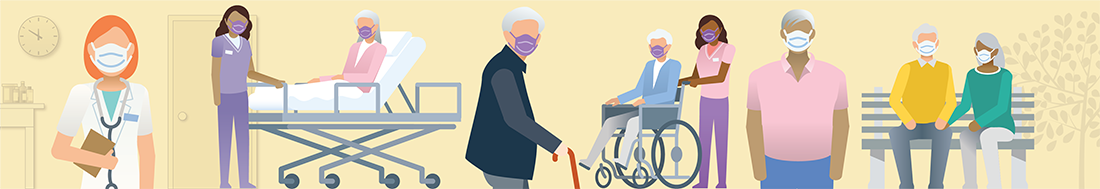 Illustration: Long-Term Care Facility Residents