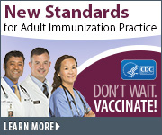 vaccines adults practice standards