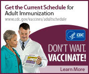 Adult immunization schedule.
