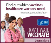 Find out which vaccines healthcare workers need.