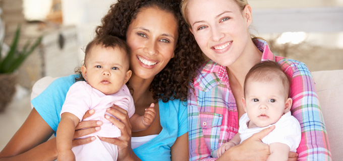 Parents   Home   Vaccines for Your Children   CDC     Mothers with their infants