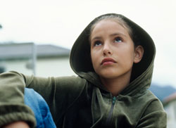 Teen outdoors