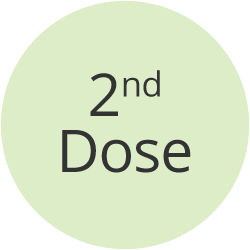2nd dose icon