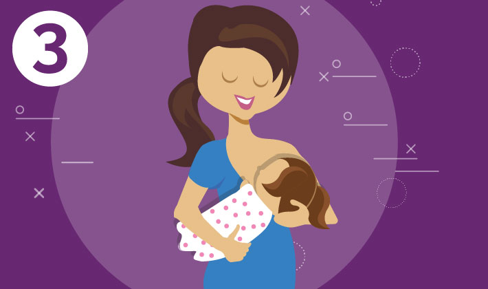 3. If you can, breastfeed