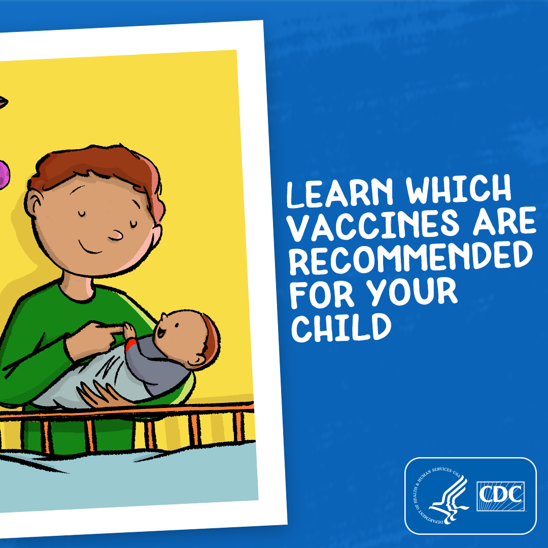 Learn which vaccines are recommended for your child.