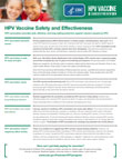 What Parents Should Know About HPV Vaccine Safety and Effectiveness.