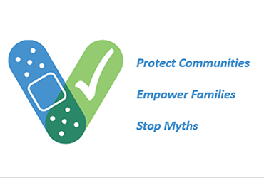 Protect Communities. Empower Families. Stop Myths.