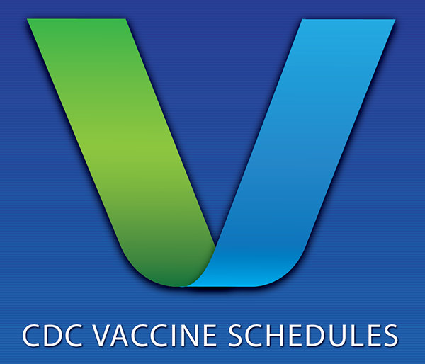 CDC Vaccine Schedules App for Health Care Providers.
