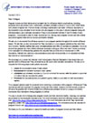 Letter to Providers: Tdap and Influenza Vaccination of Pregnant Women