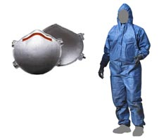 N95 Respirator & Coverall