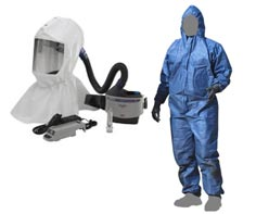 PAPR Respirator & Coverall