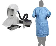 PAPR Respirator & Gown