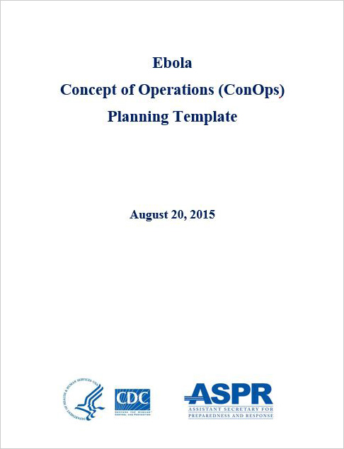 Ebola Concept of Operations (ConOps) Planning Template