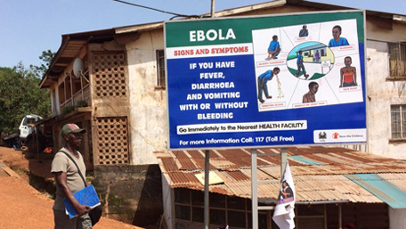 Outbreak of Ebola in Guinea, Liberia, and Sierra Leone