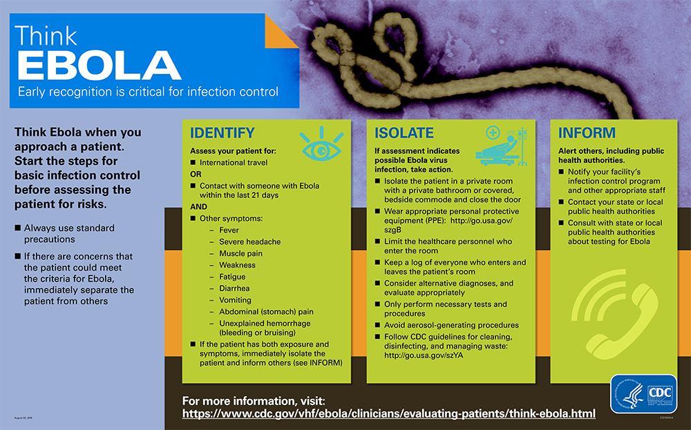 Factsheet - Healthcare Workers: Could it be Ebola?