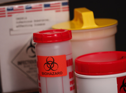 containers for shipping clinical specimens