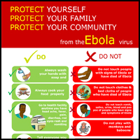 Poster: Ebola Do and Do Not's [PDF - 1 page]
