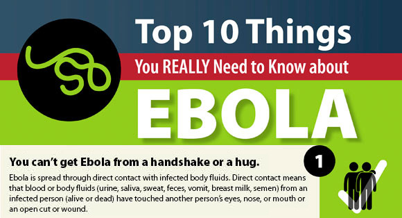 Top 10 things you really should know about Ebola