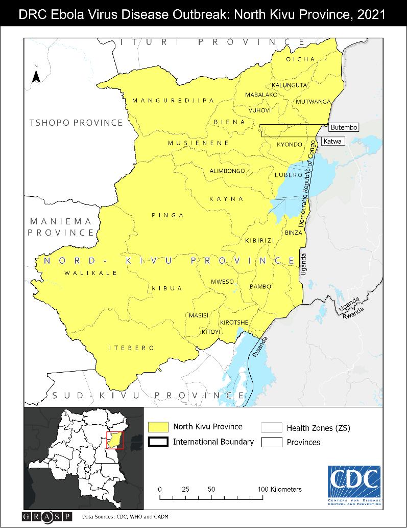 2021 Democratic Republic of the Congo, North Kivu Province ...