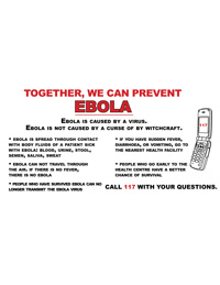 Banner: Together, We Can Prevent Ebola
